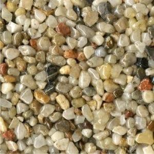 Steinteppich Farbe BRONCE Natur Körnung GROSS