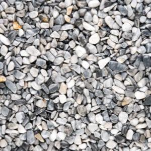 Steinteppich Farbe DELPHIN Lichtgrau Körnung GROSS