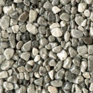 Steinteppich Farbe GRIGIO Grau Körnung GROSS