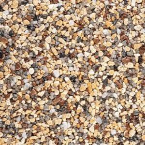 Steinteppich Farbe MEDITERRAN Körnung FEIN